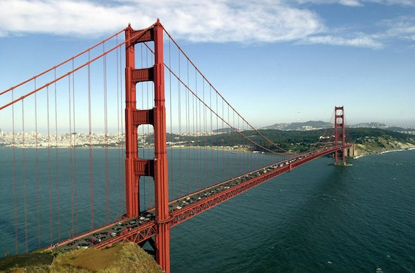 A ponte Golden Gate de São Francisco (Foto: Getty Images)