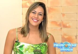 Princy, participante goiana do BBB 14. (Foto: Divulgação/TV Anhanguera)