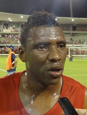 Diego Clementino, atacante do CRB (Foto: Leonardo Freire/GloboEsporte.com)