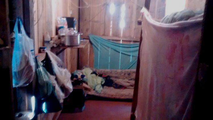 Trabalhadores foram encontrados em cômodo anexo a secador de café (Foto: Divulgação / MPT )