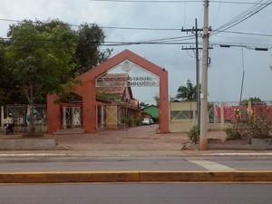 Escola Estadual Jornalista Armando Nogueira (Foto: Duaine Rodrigues/G1)