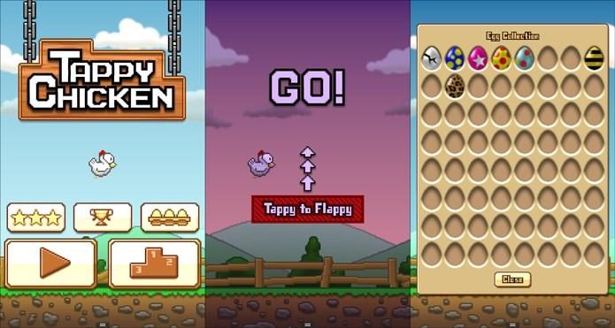 Tappy Chicken é um clone de Flappy Bird criado com a Unreal Engine 4 (Foto: Divulgação)