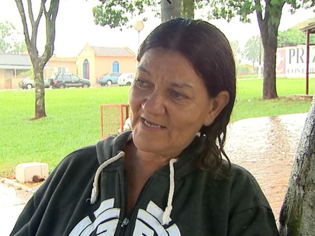Solange Batista da Cruz diz que situação do jovem atingido por descarga de raio era crítica  (Foto: Paulo Souza/EPTV)