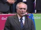 'Virei para a Paralimpíada', diz Temer sobre ausência no fim da Rio 2016