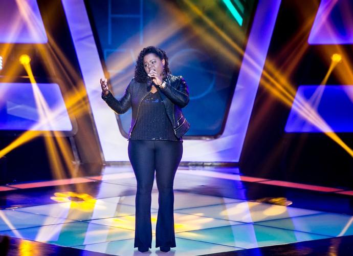 Negra Mary canta 'Fim de Tarde' em Audição do The Voice Brasil (Foto: Isabella Pinheiro/Gshow)