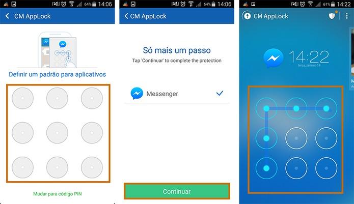Confirme a ação no app e deixe os apps mais resistentes contra acessos indevidos (Foto: Reprodução/Barbara Mannara)
