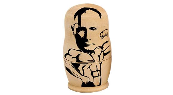 A invasão do Iraque em 2003 acendeu a luz amarela para Putin. Ele a viu como a volta dos EUA à era da Guerra Fria   (Foto:   Montagem Época)