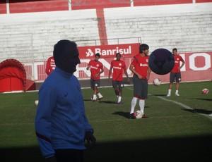 Dorival Júnior Inter treino (Foto: Tomás Hammes / GLOBOESPORTE.COM)
