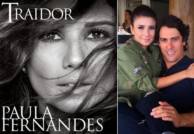 Fãs especulam que novo single de Paula Fernandes seja indireta pro ex-noivo, Henrique do Valle (Foto: Reprodução/ Instagram)