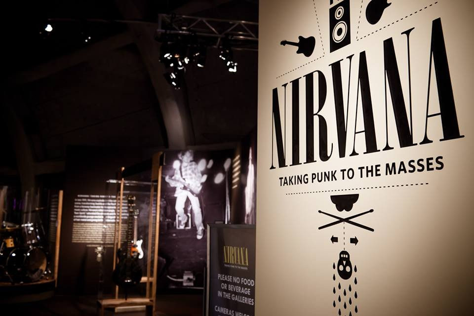 Brasil vai ser a primeira parada da turn da exposio 'Nirvana - Taking Punk to the Masses' (Foto: Divulgao/Museum of Pop Culture)