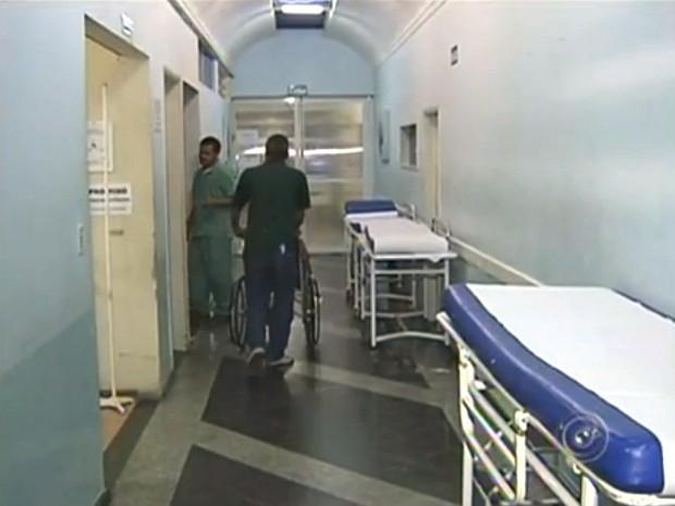 Hospital não vai mais receber novos pacientes (Foto: Reprodução/TV Tem)