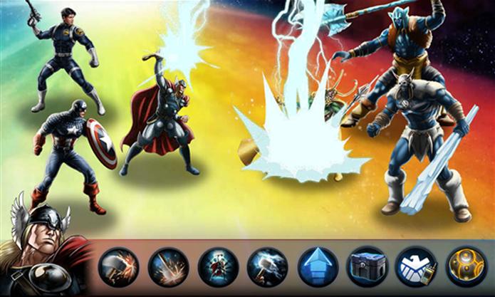 Avengers Alliance é um jogo grátis para Windows Phone baseado em batalhas (Foto: Divulgação/Windows Phone Store)