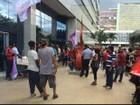 MTST protesta por moradia em prédio do Ministério das Cidades