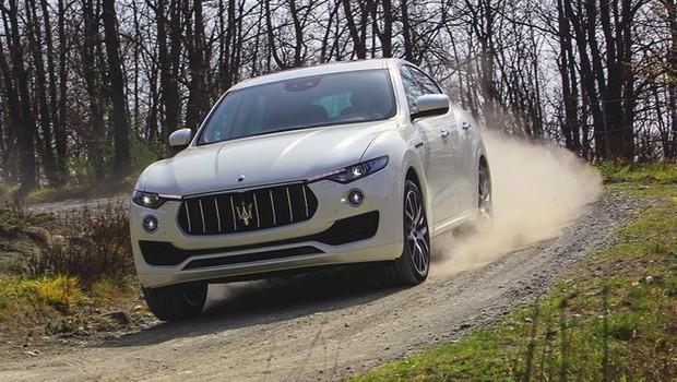 Maserati Levante (Foto: Divulgação)