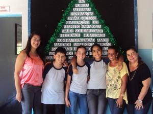 Alunos da Olimpiada Brasileira de Matematica em Arcos (Foto: Prefeitura de Arcos/Divulgação)
