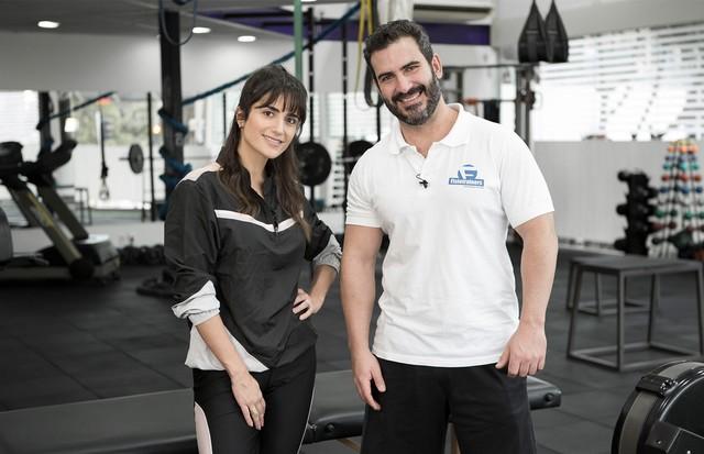 Luiza Souza e Fabio Aquino (Foto: Rafael Avancini)