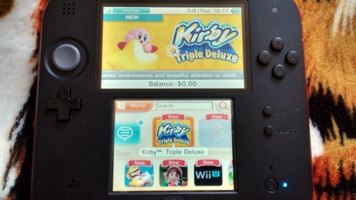 Kirby Triple Deluxe pode ser adquirido via eShop (Foto: Paulo Vasconcellos)