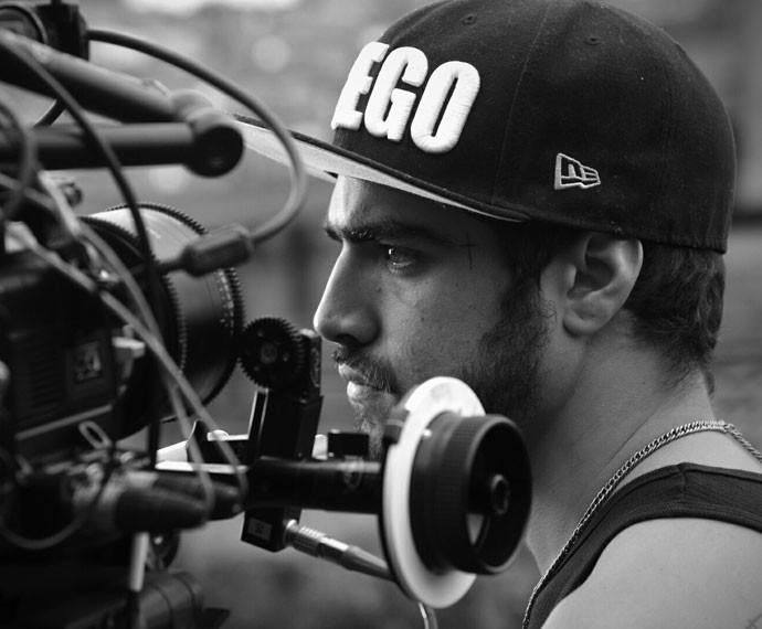 O ator gravou as últimas cenas de seu personagem, Grego (Foto: Raphael Dias/Gshow)
