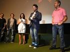 Mostra de Cinema é aberta, e ator Selton Mello ganha homenagem