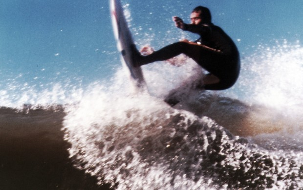 Marcelo Medeiros não surfa há mais de seis meses (Foto: Arquivo pessoal)