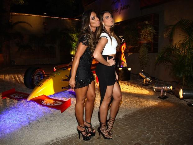 Nicole Bahls e Renata Molinaro em evento em São Paulo (Foto: Manuela Scarpa/ Foto Rio News)