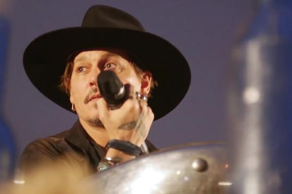 O ator Johnny Depp (Foto: Reprodução/YouTube)