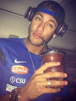 Neymar Mate Instagram Santos (Foto: Reprodução / Instagram)