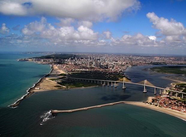 Vista aérea da capital potiguar (Foto: Canindé Soares)
