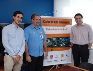 Grupo apresenta projeto do centro de alto rendimento de Extremoz ao presidente da Confederação de Boxe (Foto: Divulgação)