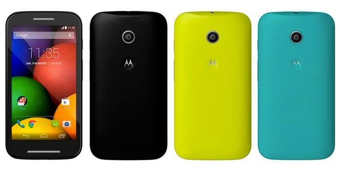 Motorola Moto E, provável novo smartphone da Motorola (Foto: Reprodução/Fast Shop)