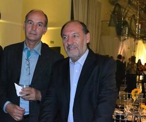 Edson Fragnan (à esq.) e Jair Meneguelli  (Foto: Reprodução)
