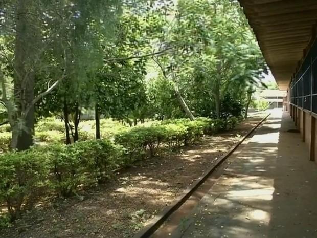 Uma das intenções é ampliar jardim e construir pista de atletismo (Foto: Reprodução/ TV TEM)