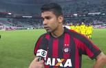 """Eduardo da Silva lamenta derrota e diz que time terá que jogar """"feio"""" a partir de agora"""