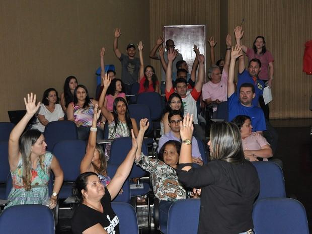Greve IFTO Paraíso (Foto: Divulgação/IFTO)