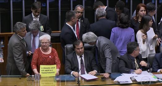 no Congresso (Globo)
