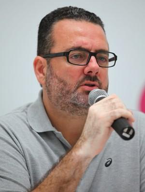 Jorge Lacerda, presidente da Federação Brasileira de Tênis (Foto: Caetano Barreira / Fotoarena)