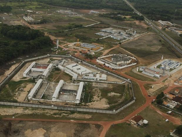 Centro de Recuperação Penitenciário Pará III, no Complexo Prisional de Santa Izabel. (Foto: Oswaldo Forte/O Liberal)