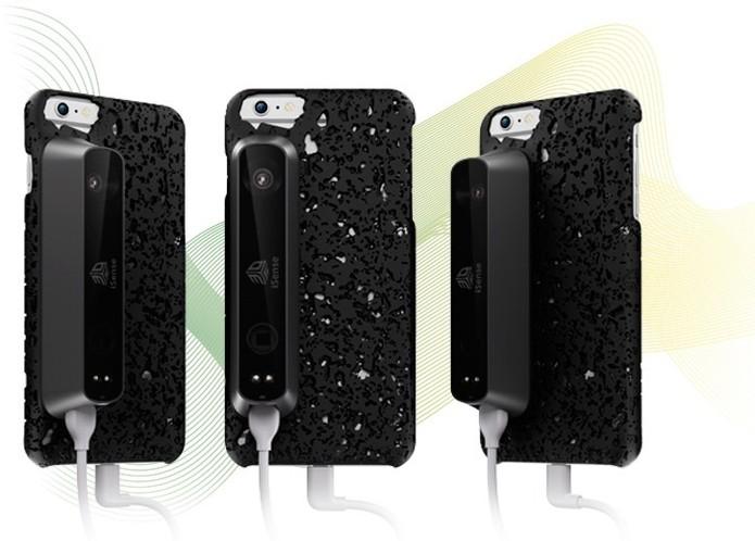 iSense agora também está disponível para iPhone (Foto: Divulgação/3D Systems)