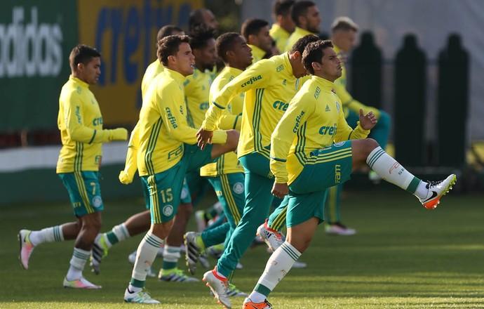 Palmeiras treino Academia (Foto: Cesar Greco/Ag Palmeiras/Divulgação)