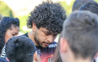 """Abalado com tragédia, Luan revela, se for campeão: """"Não vou comemorar"""""""