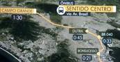 Confira o tempo das viagens de ônibus (Confira o tempo das viagens de ônibus (Confira o tempo das viagens de ônibus (Reprodução/TV Globo)))