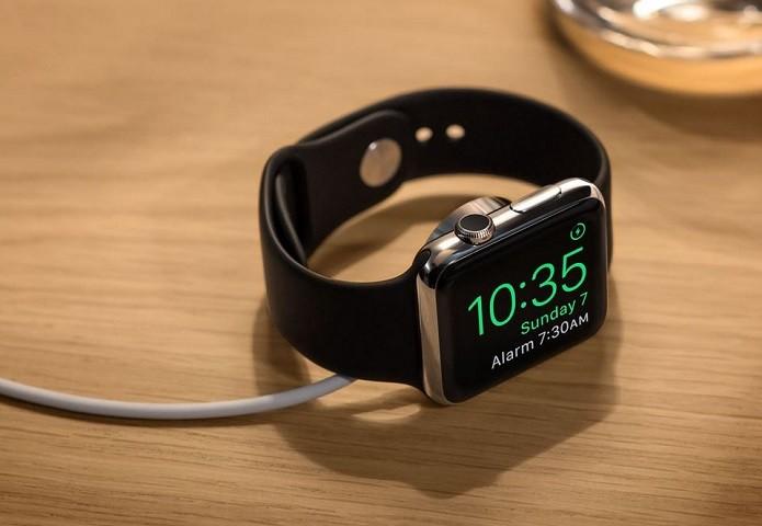 Modo de cabeceira do Apple Watch (Foto: Divulgação/Apple)