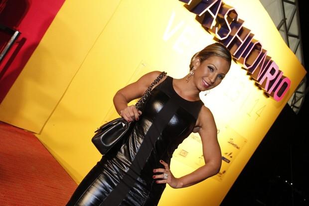 Valesca Popozuda no Fashion Rio (Foto: Thyago Andrade  / FotoRioNews)
