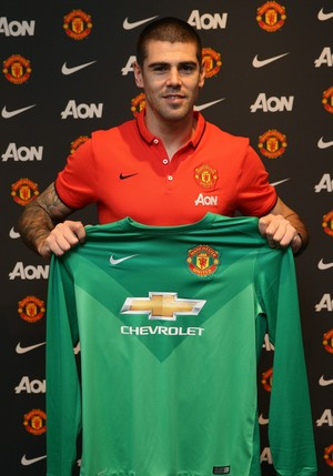 Victor Valdés, Manchester United (Foto: Site oficial do Manchester United)