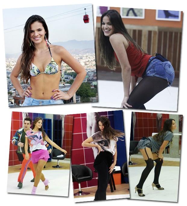 Alçada ao posto de mulherão com sua periguete Lurdinha, de Salve Jorge, a atriz completou 18 anos na última semana e tem treinado demais para as coreografias do Dança (Foto: Divulgação/Rede Globo)