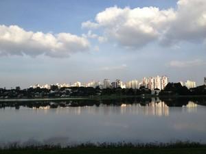 Paraná TV Parque Barigui  (Foto: Thais Kaniak / G1 PR)