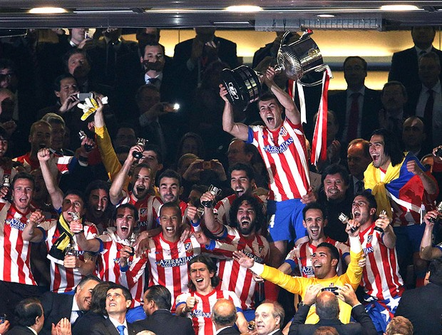 Atletico de Madri taça Copa do Rei Real Madrid (Foto: EFE)
