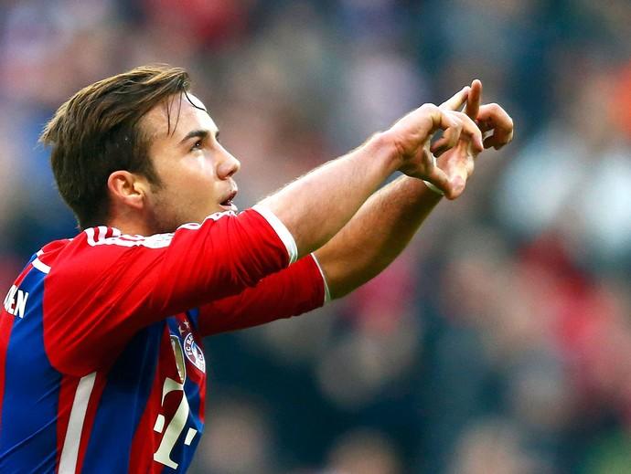 Gotze, Bayern de Munique x Hoffenheim (Foto: Reuters)