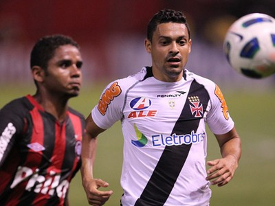 Eder Luis Vasco x Atlético-PR (Foto: Flickr do Vasco)