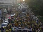 Cidades no interior da Bahia têm protestos contra o governo